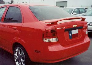 Spoiler Factory Hyundai Accent Spoiler 2006-2010 Sedan Custom Style Painted at Sears.com